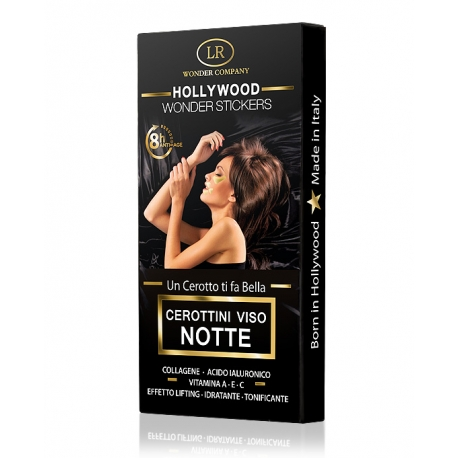Cerottini viso notte contorno occhi, labbra e fronte HOLLYWOOD WONDER STICKERS - LR Wonder