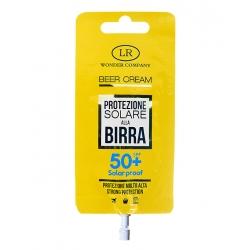 Crema solare alla Birra, protezione 50 in bustina BEER CREAM POCKET SPF 50 - LR Wonder