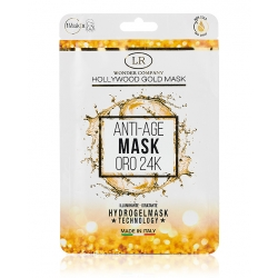 Maschera viso oro 24kt HOLLYWOOD GOLD MASK - LR Wonder