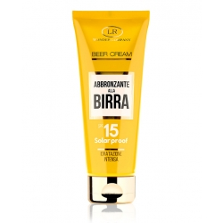 BEER CREAM TUBO SPF 15 for face & body
