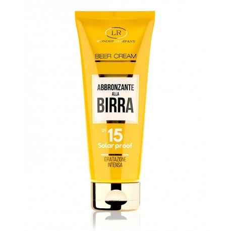 Crema solare alla Birra, protezione 15 BEER CREAM TUBO SPF 15 - LR Wonder