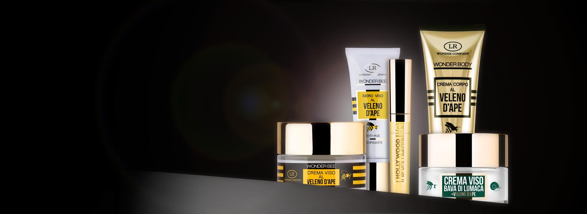 Creme viso e corpo al veleno d'ape LR Wonder Company, Wonder Body, Wonder Bee, Lip Volumizer