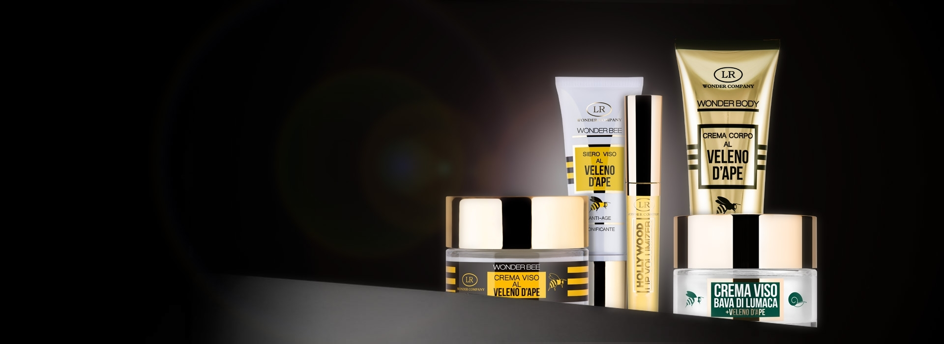 Bee Venom face and body creams LR Wonder Company, Wonder Body, Wonder Bee, Lip Volumizer