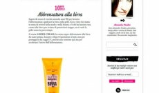 Beer Cream su Glamour Personal Shopper | LR Wonder Company