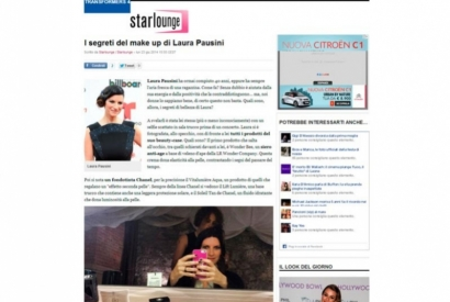 I segreti del make up di Laura Pausini